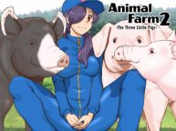 Cover Zoo (Mizuiro Megane) Doubutsu Noujou 3-biki no Kobuta-chan Hen – Animal Farm 2 The Three Little Pigs [English]