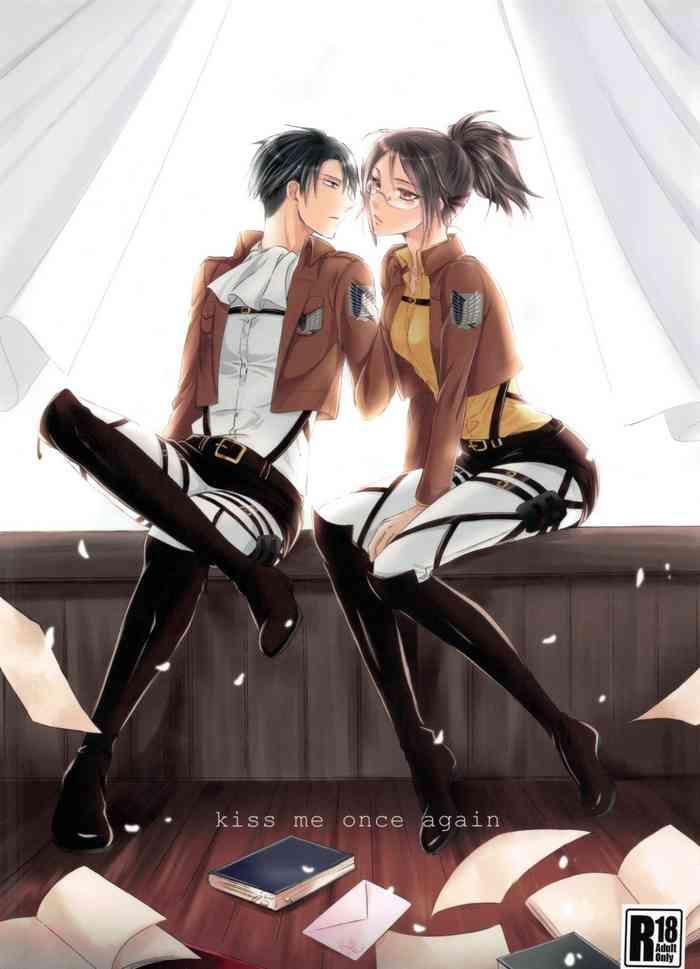 Cover (C86) [Kiseki (Kisaki Noah)] kiss me once again (Shingeki no Kyojin) [English]