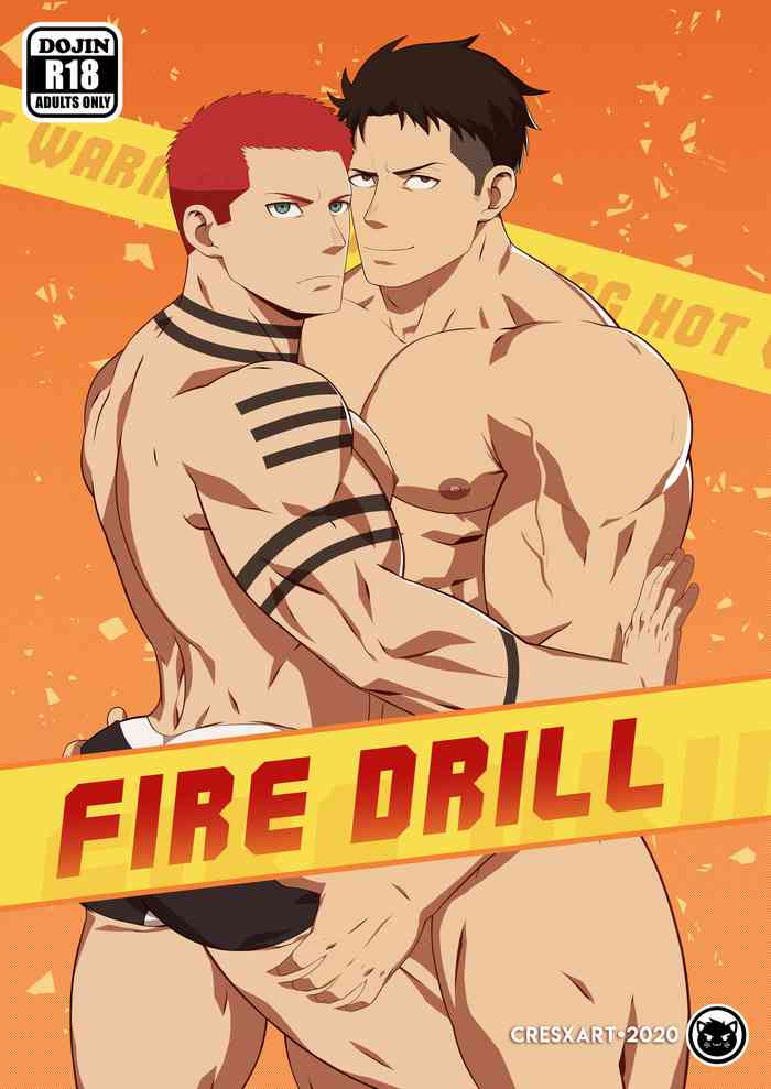 Cover [Cresxart] Fire Drill!: A Fire Force comic